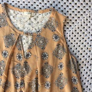 Umgee • Parisian lace back swing dress